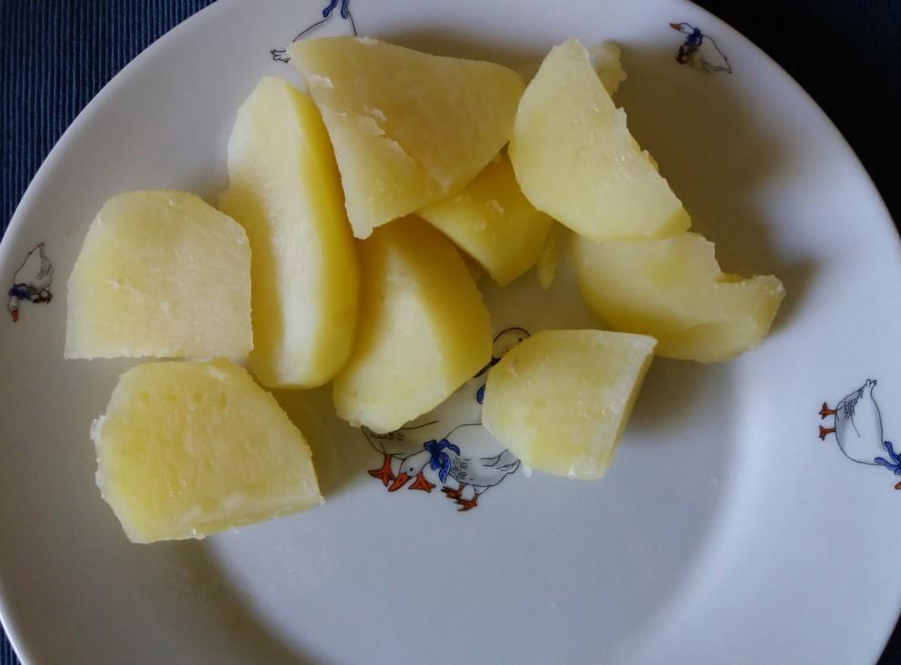 Főtt krumpli köret