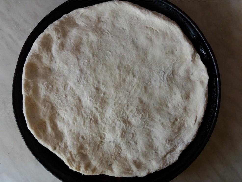 Nyers pizzatészta