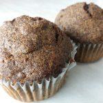 Mákos muffin aszalt gyümölccsel