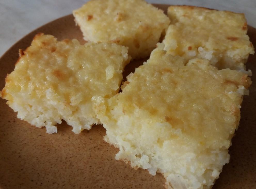 Rizskók készítése tányéron