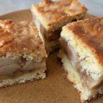 Omlós almás pite