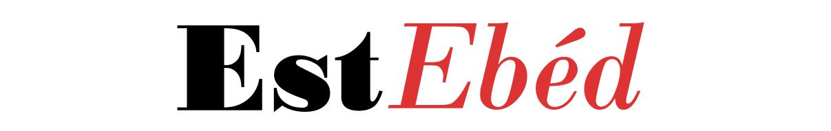 EstEbéd logó -  Receptek, Sütemények, Ételek és minden Finomság